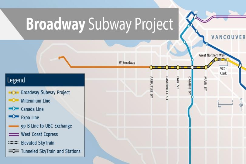 Gmp Subway Map.Procurement Process Begins On 2 83 Billion Broadway Subway Project